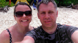Thumbnail image for Nicola & Russell enjoying a 4 day stay at Siroktabe before travelling to Bali
