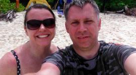 Thumbnail image for Nicola & Russell disfrutando de 4 días en Siroktabe antes de su viaje a Bali