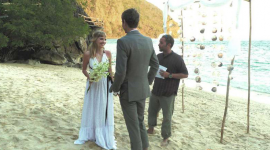 Thumbnail image for Polly & Jared's wedding at the private beach of Hidden Beach Villa