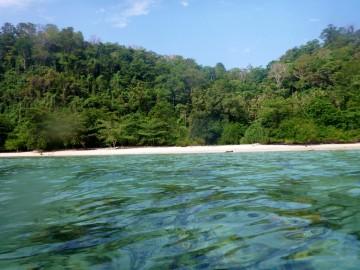 Siroktabe, La isla desierta de Ian