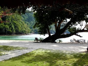 The main beach at Mark's Dream