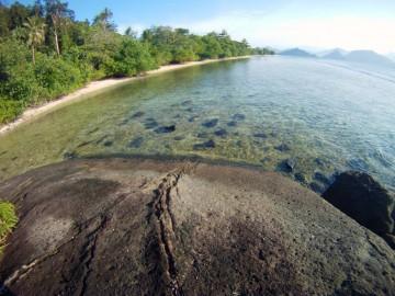 Photo taken from Gambolo's rocks