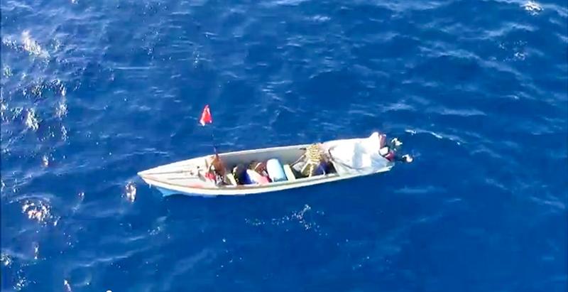 Barco del Mexicano 16 Meses Deriva
