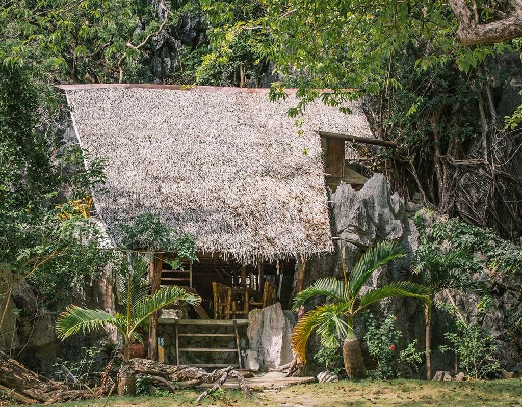 El Hidden Beach Villa a la mañana siguiente