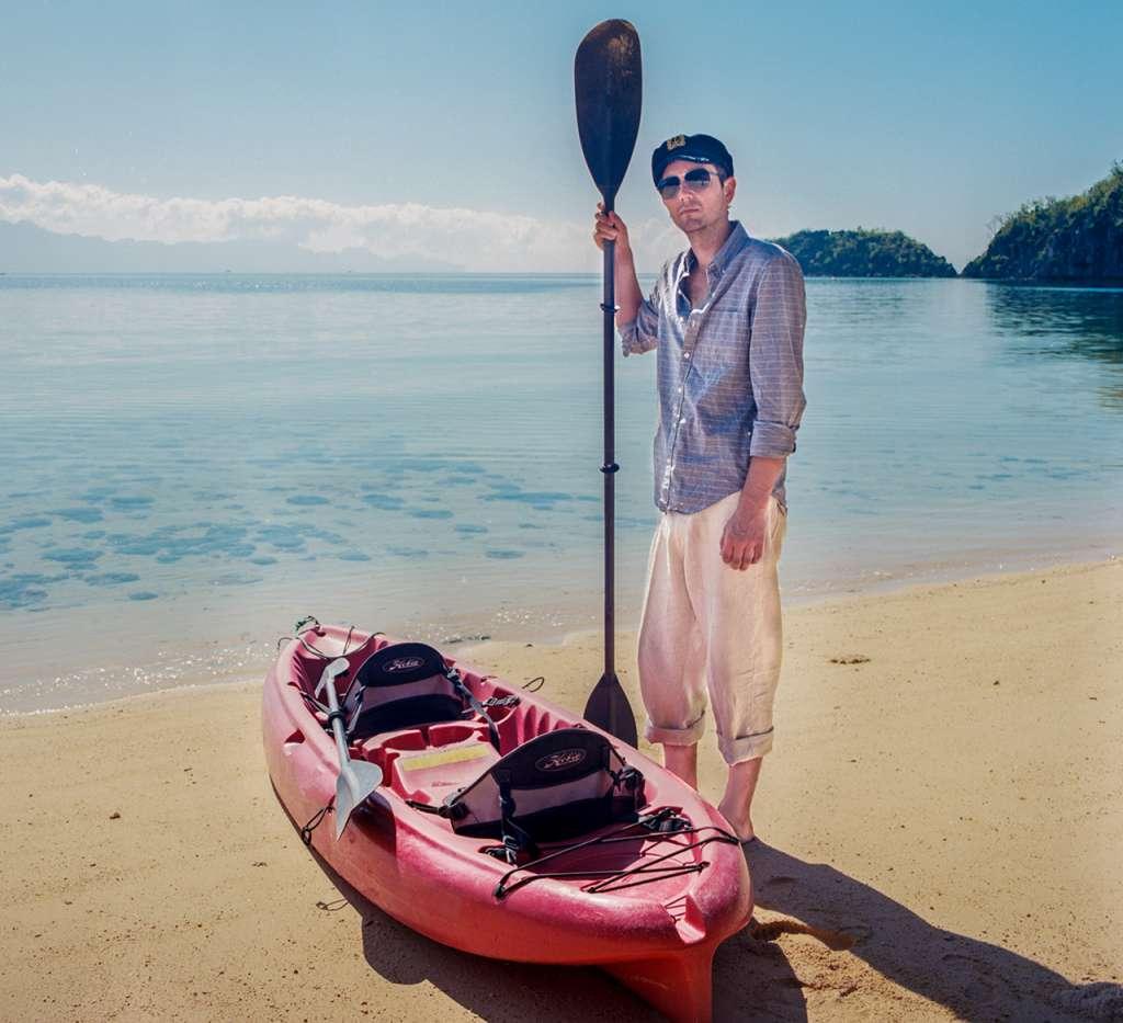 Jared, un auténtico marinero :)