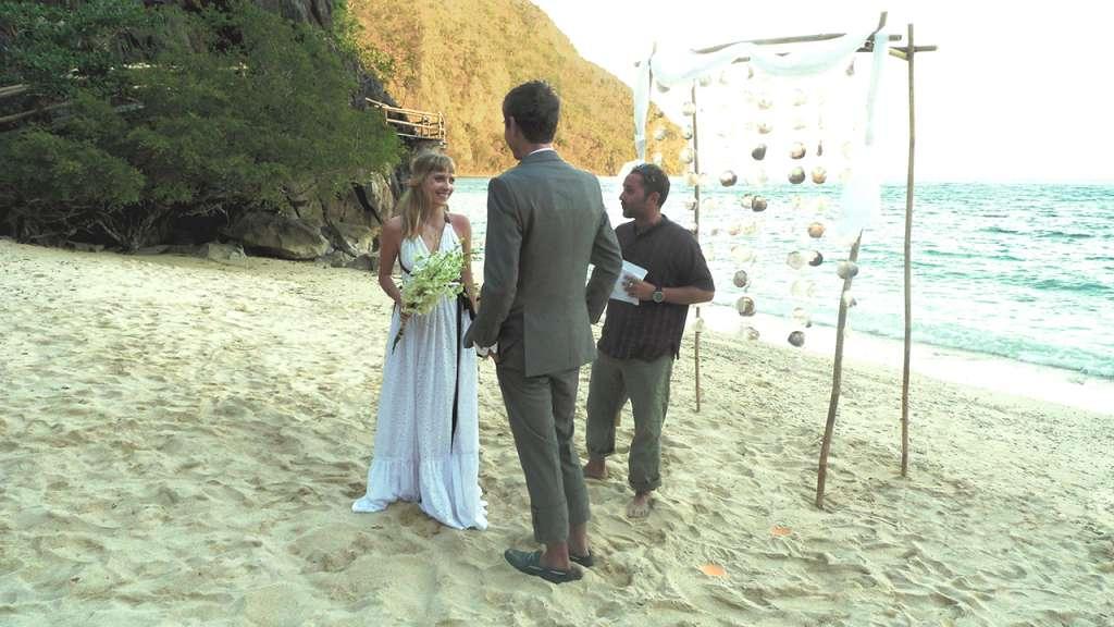 Matrimonio en una isla desierta