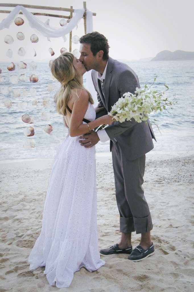Matrimonio en una isla privada