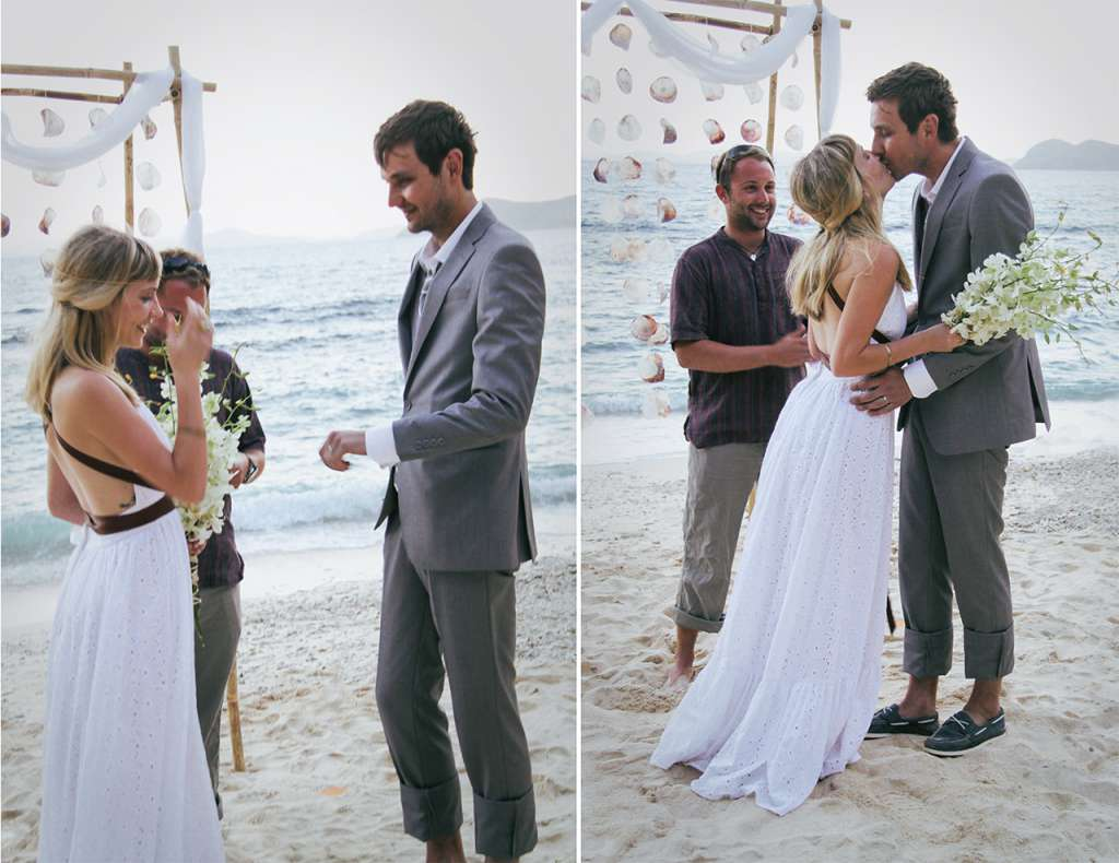 getting married on a desert island