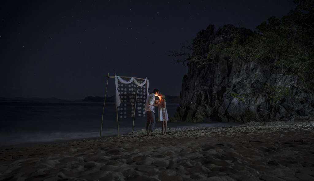 wedding on a private island