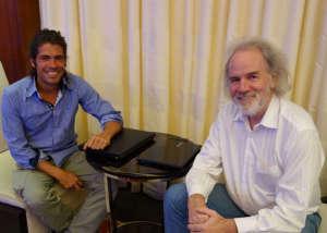 Alvaro Cerezo & Ian Argus Stuart Casino Manila