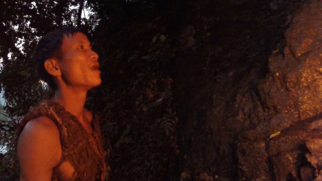 Boy living in the forest in vietnam camboya