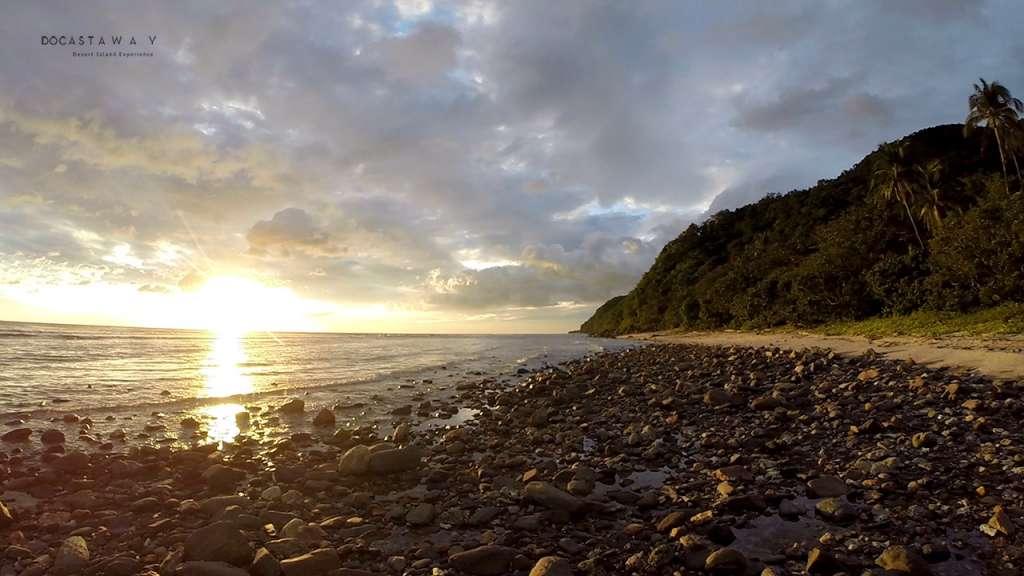 Gunting Beach in Lubang Himanda Quebrada