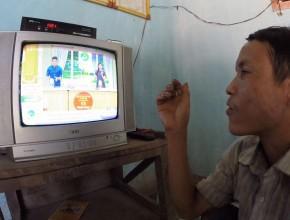Ho Van Lang and the TV