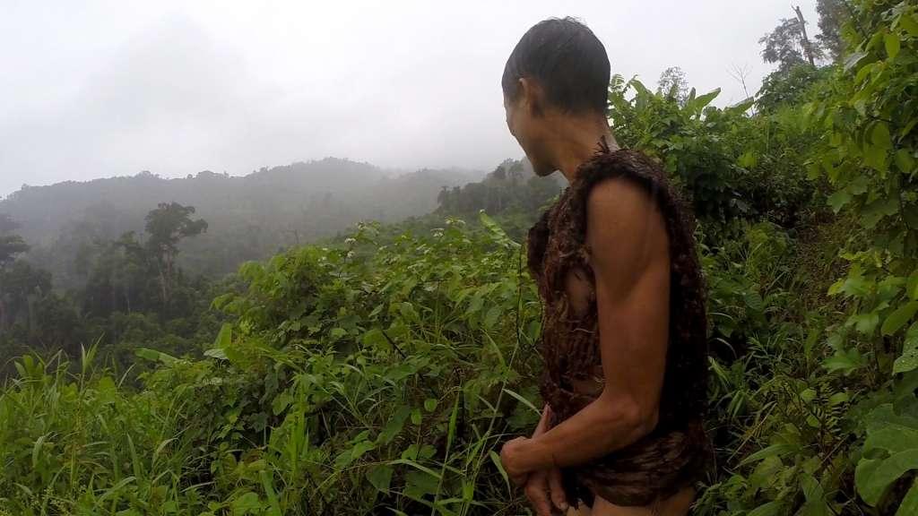 Ho Van Lang looking at the horizon