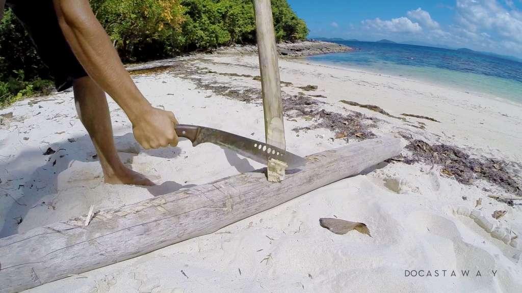 best way to open coconut