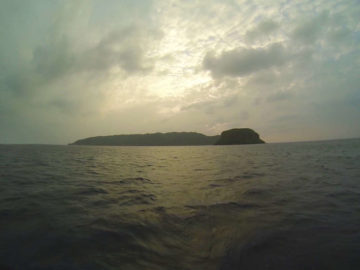 Sotobanari Desert Island Iriomote Japan