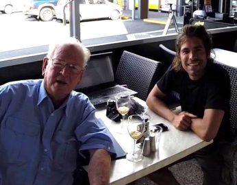 Captain Peter Warner & Alvaro Cerezo in Australia