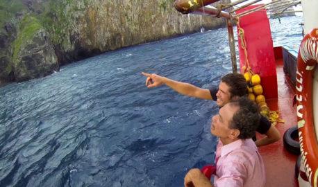 Kolo Fekitoa with Alvaro Cerezo from Docastaway